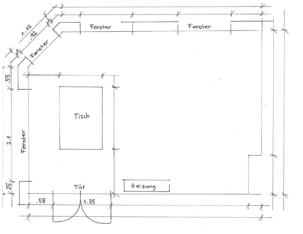 Wie zeichne ich einen Raum 21   Schritt für Schritt Anleitung
